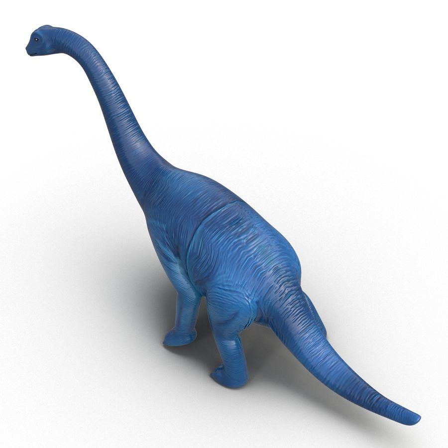 Dinosaur Toy Brachiosaurus royalty-free 3d model - Preview no. 10