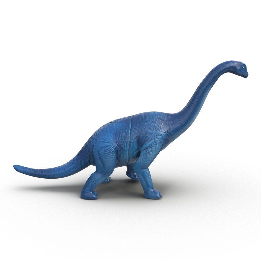 Dinosaur Toy Brachiosaurus royalty-free 3d model - Preview no. 5