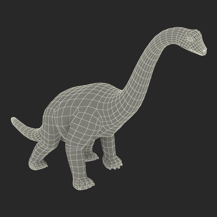Dinosaur Toy Brachiosaurus royalty-free 3d model - Preview no. 24