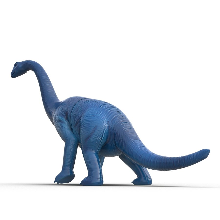 Dinosaur Toy Brachiosaurus royalty-free 3d model - Preview no. 13