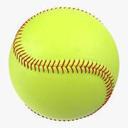 Softball 3d model