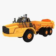 Caminhão Articulado 3d model