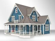 ビクトリア朝の家 3d model