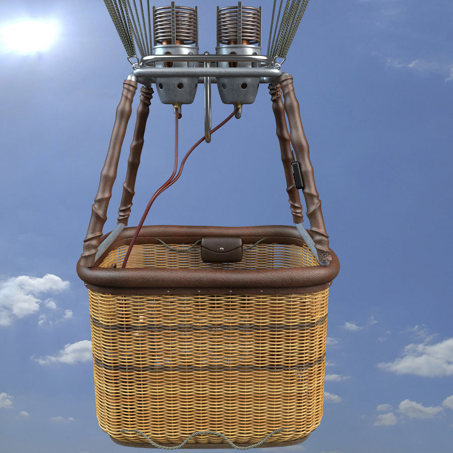Luchtballon royalty-free 3d model - Preview no. 16