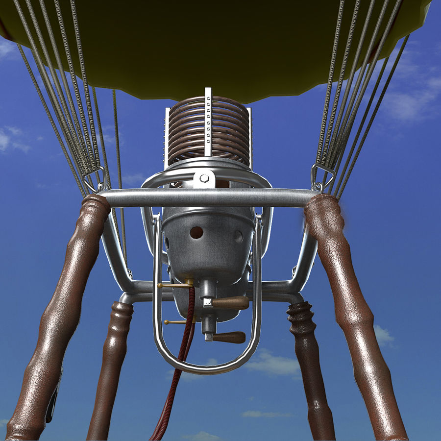 Luchtballon royalty-free 3d model - Preview no. 10