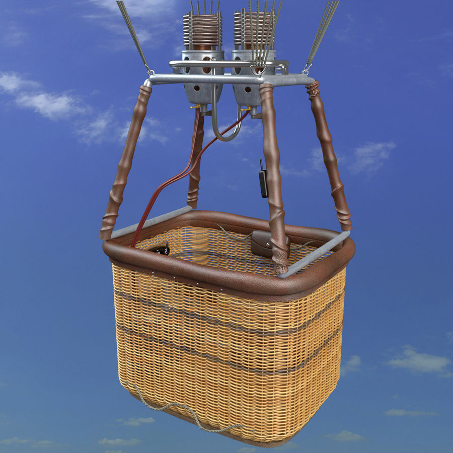 Luchtballon royalty-free 3d model - Preview no. 2