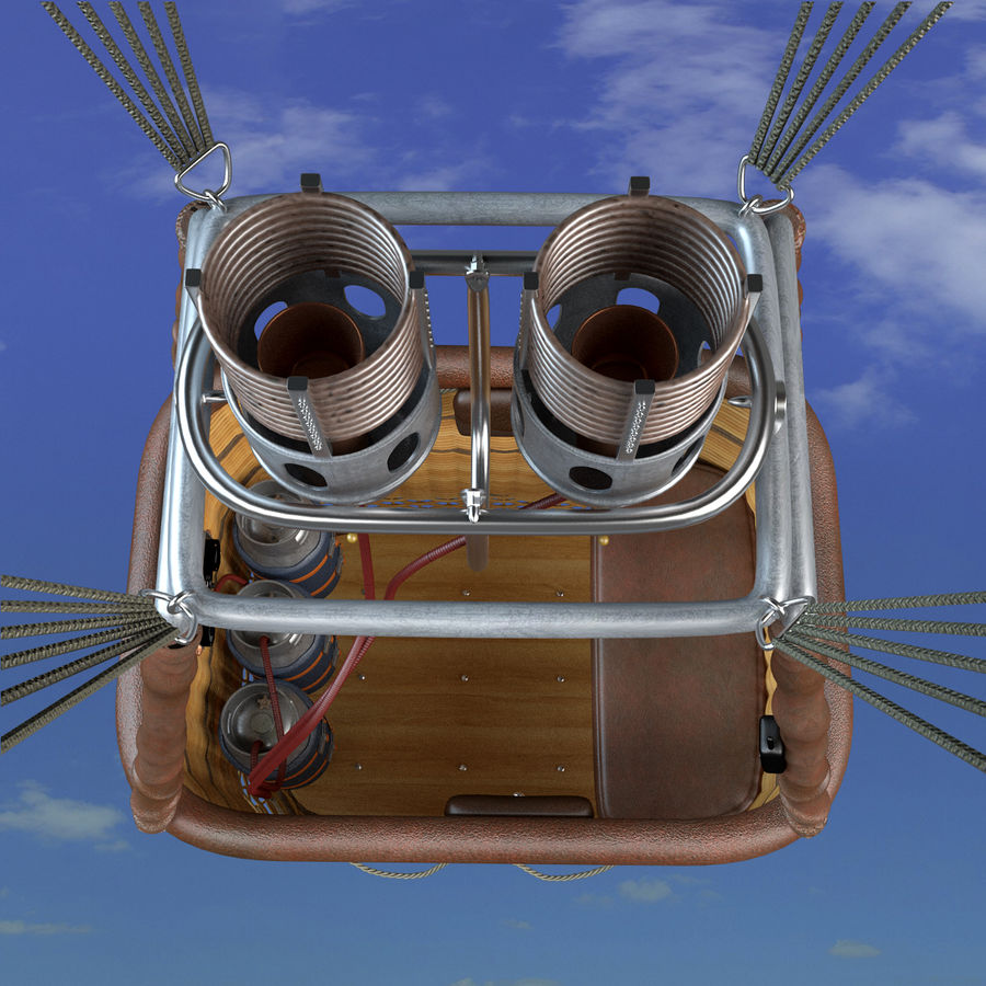 Luchtballon royalty-free 3d model - Preview no. 5