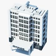 Office Binası sembolü 3d model