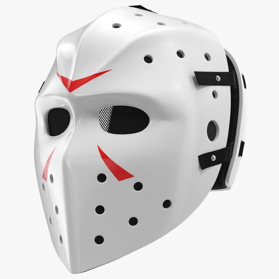 Masque de hockey 2 royalty-free 3d model - Preview no. 1