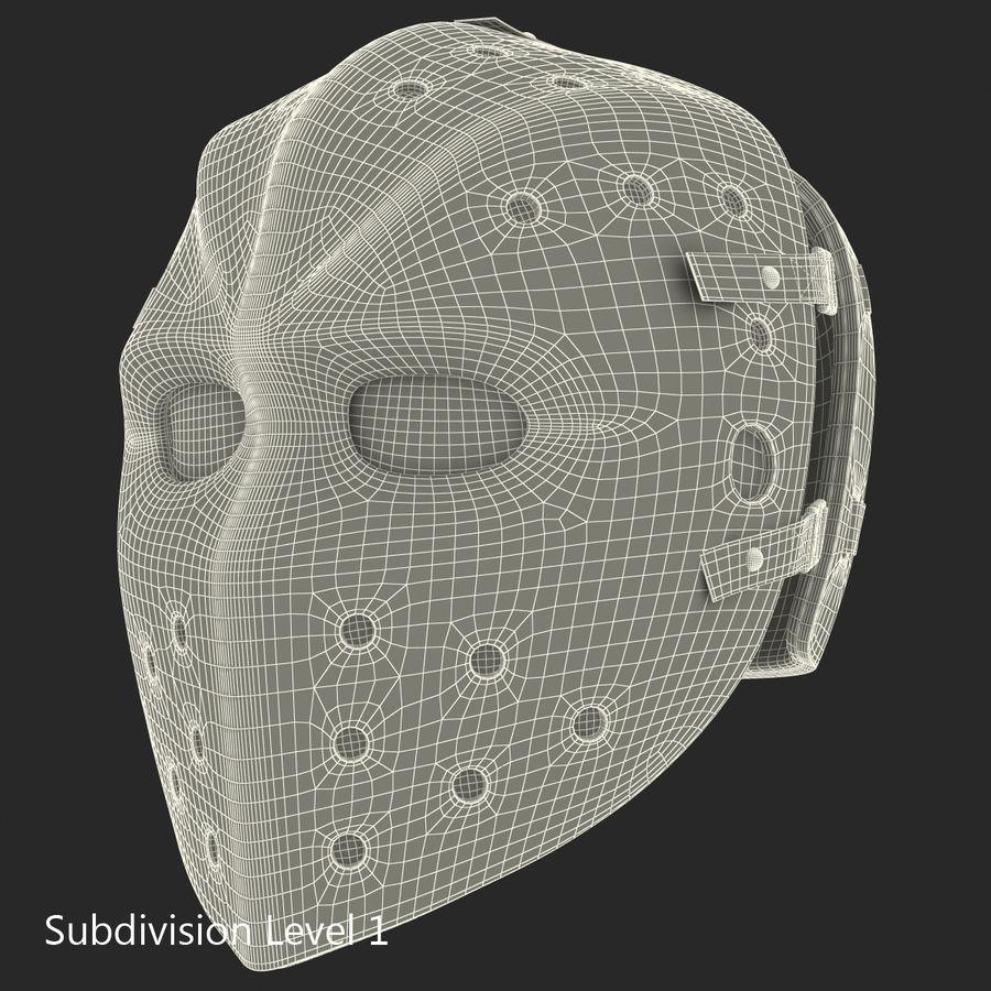 Masque de hockey 2 royalty-free 3d model - Preview no. 18