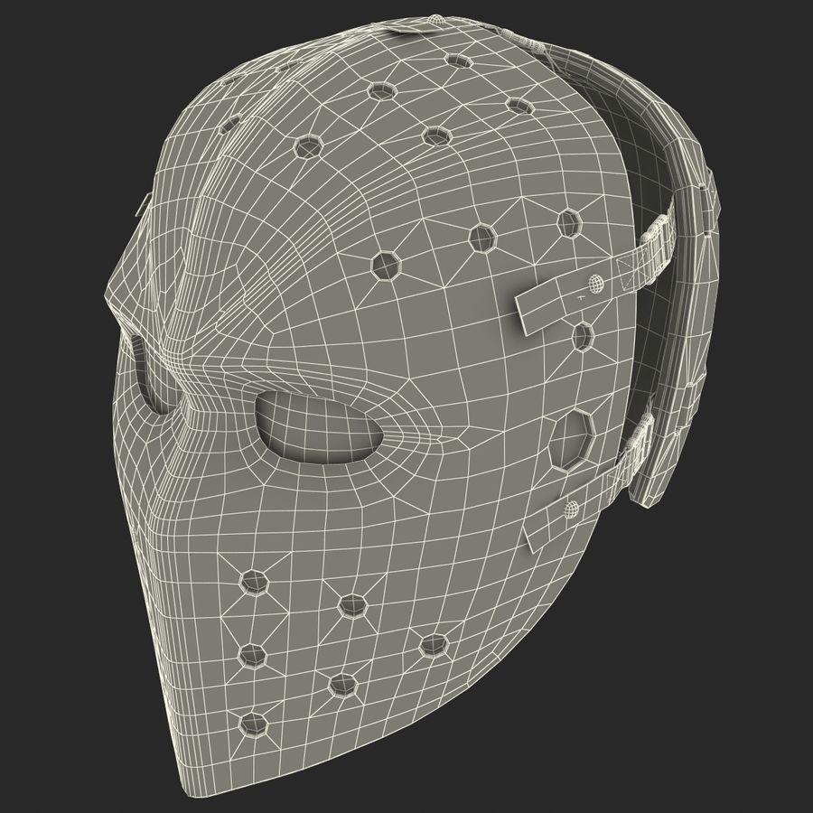 Masque de hockey 2 royalty-free 3d model - Preview no. 23