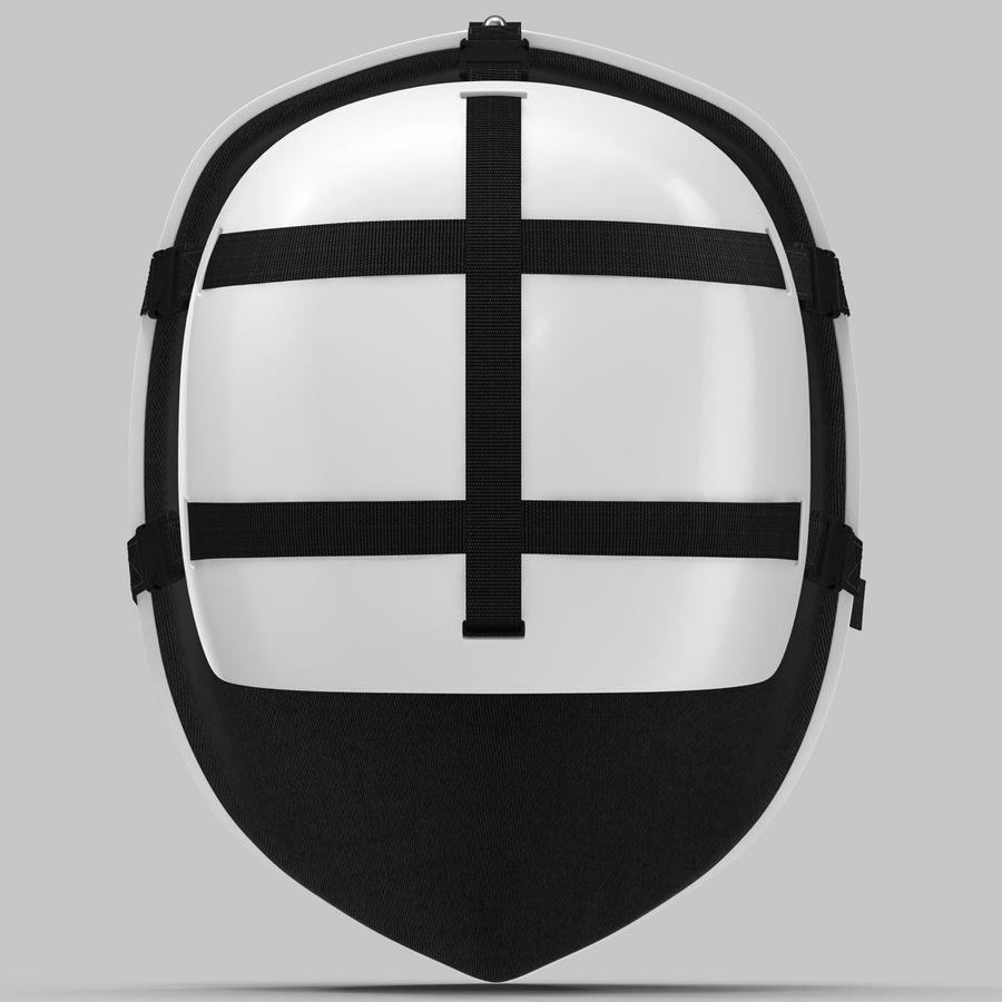 Masque de hockey 2 royalty-free 3d model - Preview no. 9