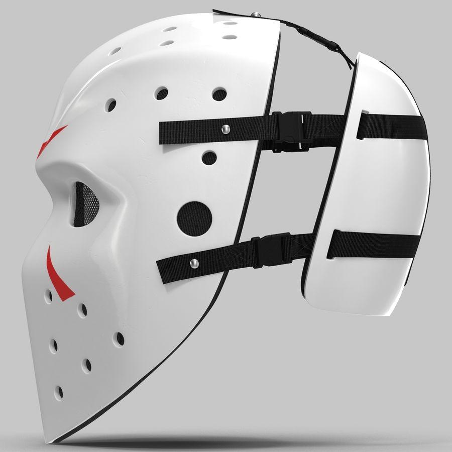 Masque de hockey 2 royalty-free 3d model - Preview no. 8