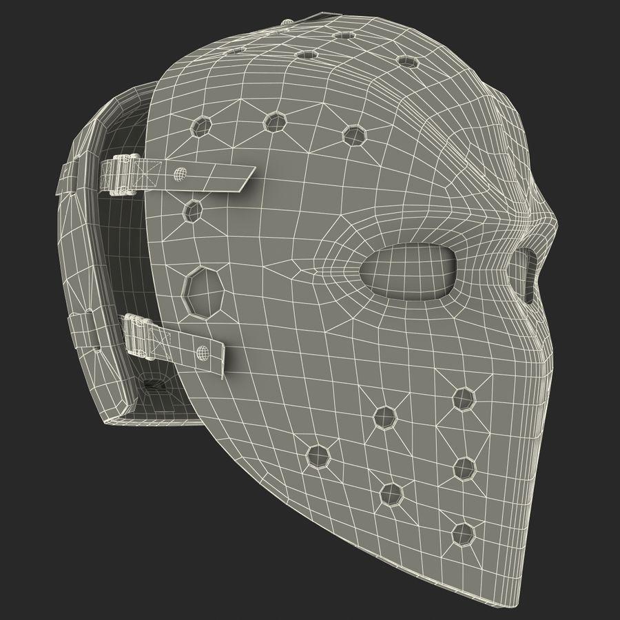 Masque de hockey 2 royalty-free 3d model - Preview no. 24