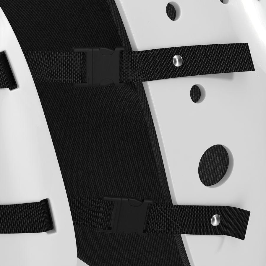 Masque de hockey 2 royalty-free 3d model - Preview no. 14