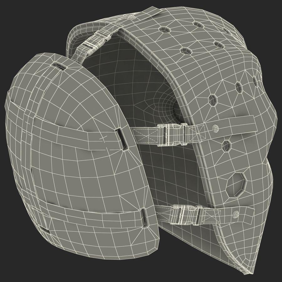 Masque de hockey 2 royalty-free 3d model - Preview no. 25