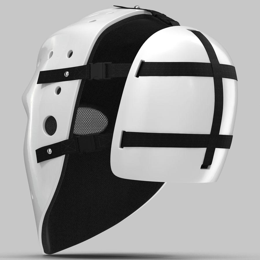 Masque de hockey 2 royalty-free 3d model - Preview no. 6