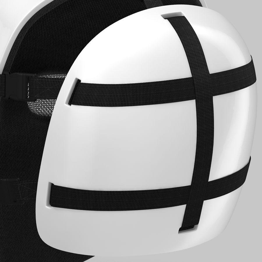 Masque de hockey 2 royalty-free 3d model - Preview no. 15