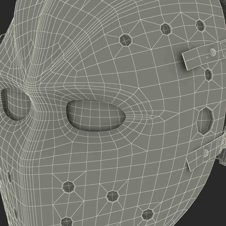 Masque de hockey 2 royalty-free 3d model - Preview no. 28