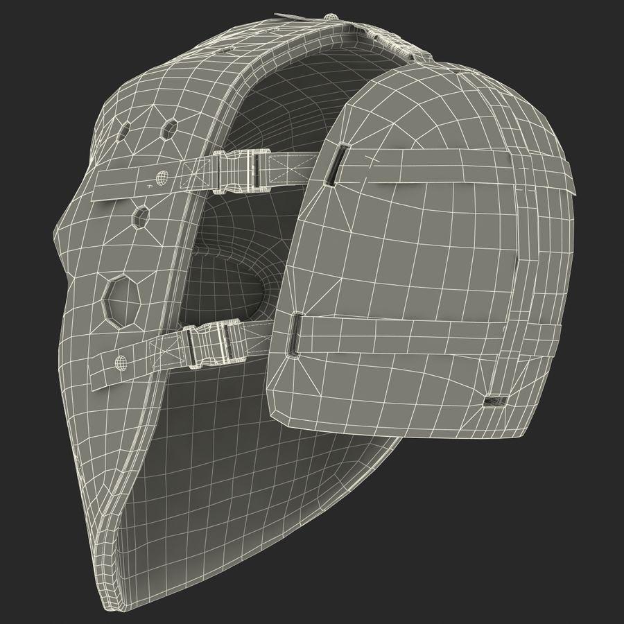 Masque de hockey 2 royalty-free 3d model - Preview no. 26