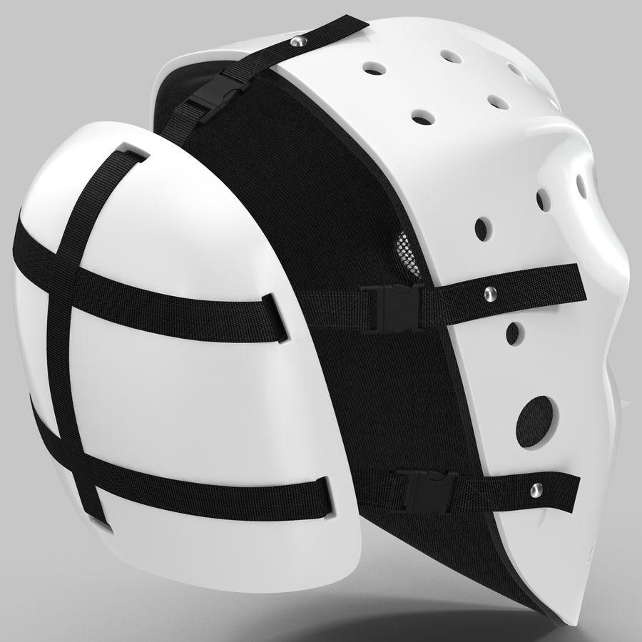 Masque de hockey 2 royalty-free 3d model - Preview no. 5