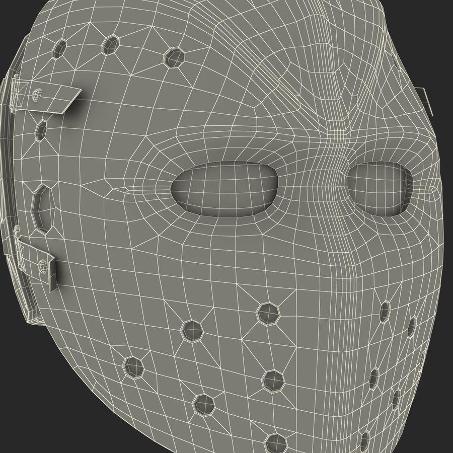 Masque de hockey 2 royalty-free 3d model - Preview no. 27