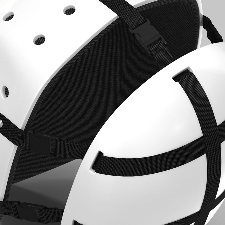 Masque de hockey 2 royalty-free 3d model - Preview no. 16