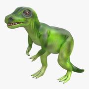 공룡 장난감 티라노 사우루스 3D 모델 3d model