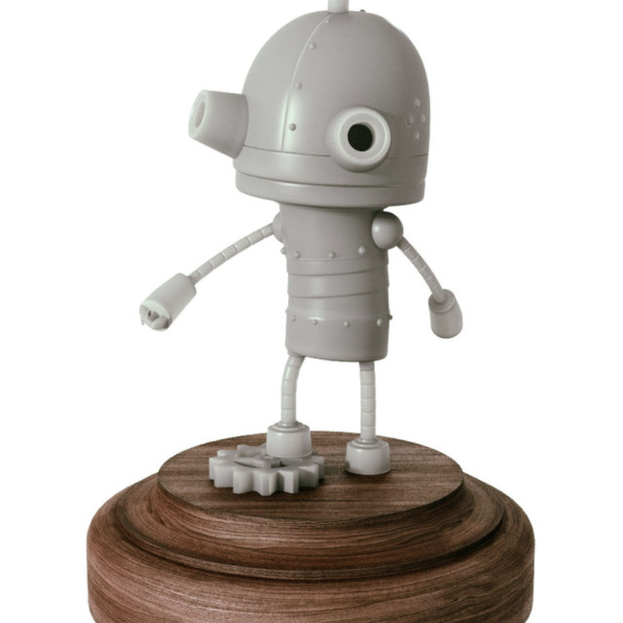 Josef Robot Machinarium royalty-free 3d model - Preview no. 1
