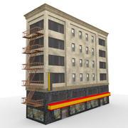시티 빌딩 2 3d model