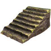Escalera rocosa | Activo de juego Low Poly modelo 3d