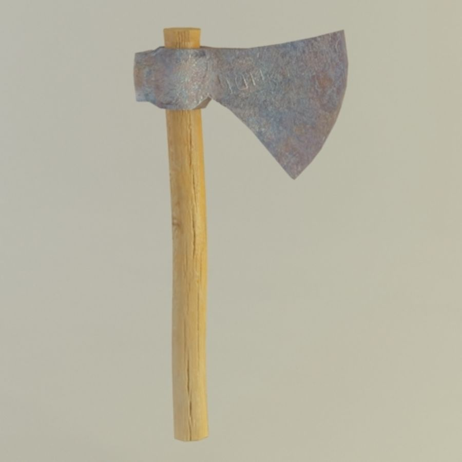 AXE3 royalty-free 3d model - Preview no. 3
