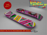 Hoverboard Marty Mc Fly 3d model