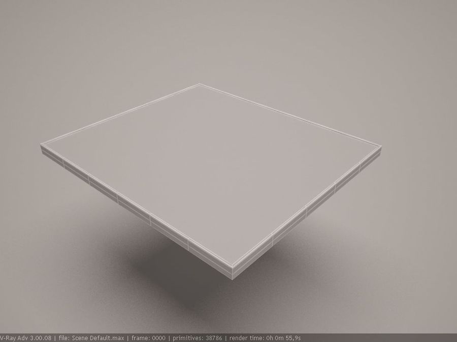 cooktop royalty-free 3d model - Preview no. 6