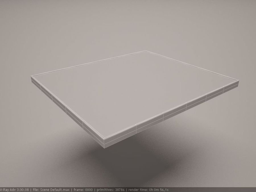 cooktop royalty-free 3d model - Preview no. 4