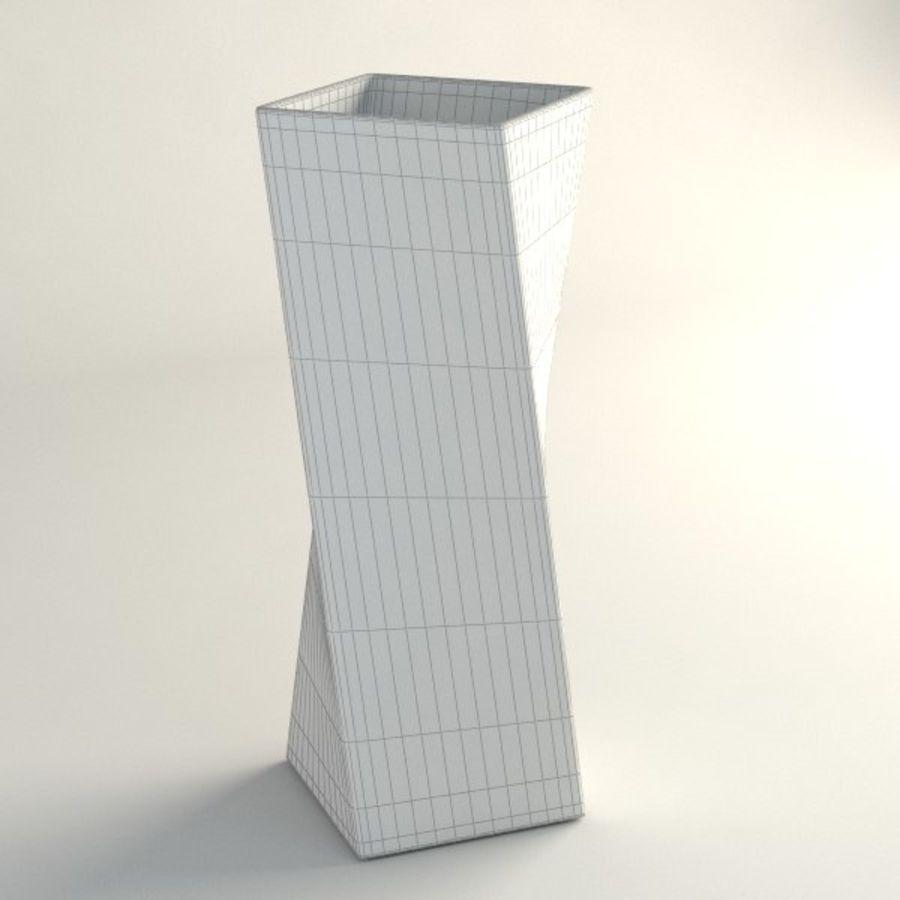 ガラス花瓶003 royalty-free 3d model - Preview no. 4