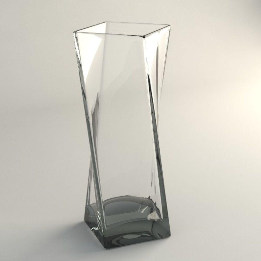 ガラス花瓶003 royalty-free 3d model - Preview no. 1