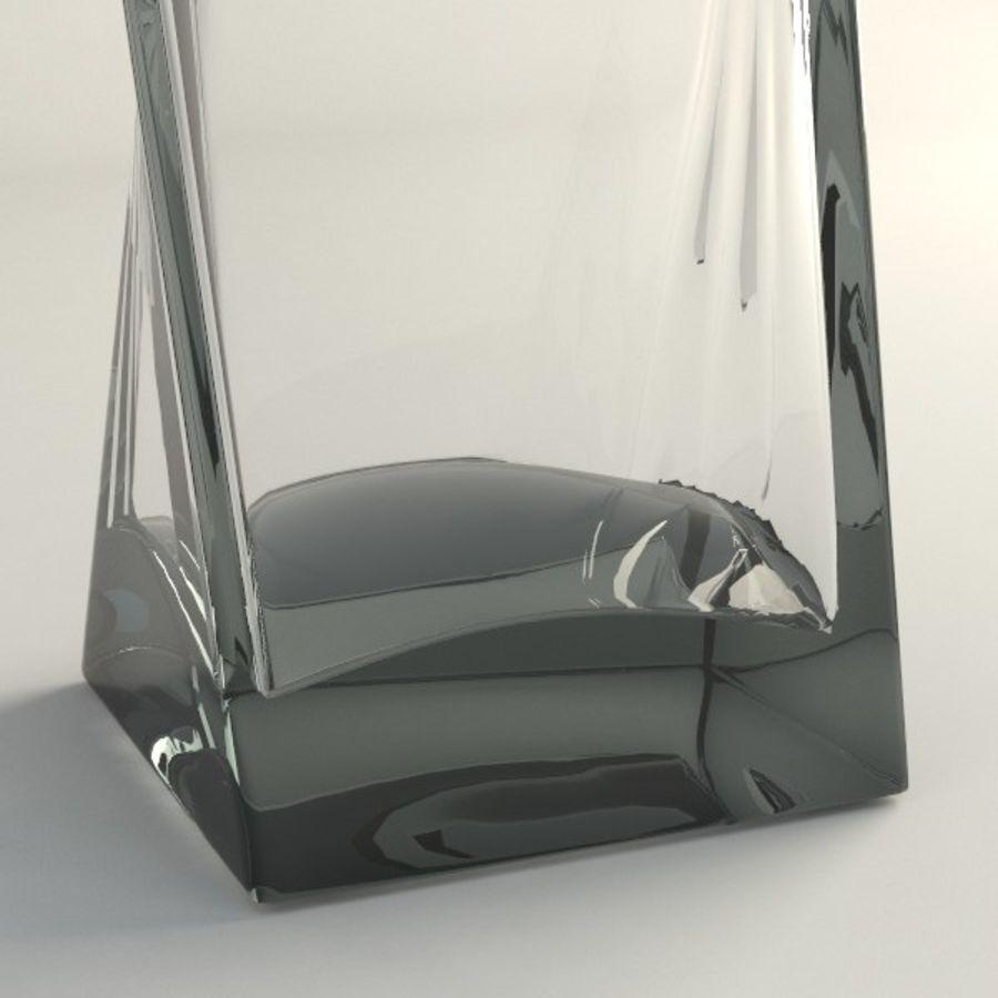 ガラス花瓶003 royalty-free 3d model - Preview no. 3