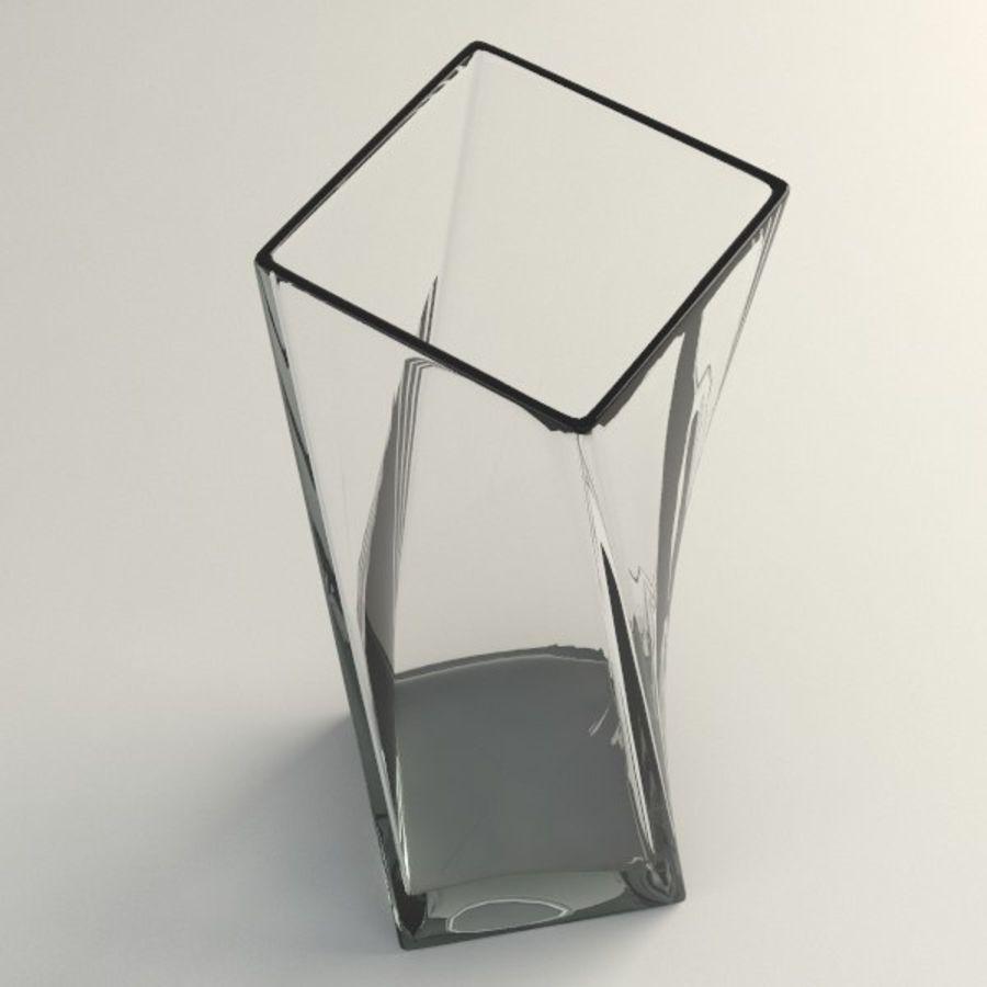 ガラス花瓶003 royalty-free 3d model - Preview no. 2