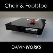 Mesa de café modelo 3d