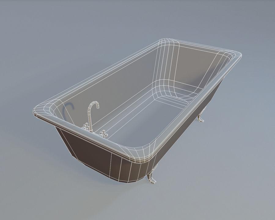 목욕통 royalty-free 3d model - Preview no. 4
