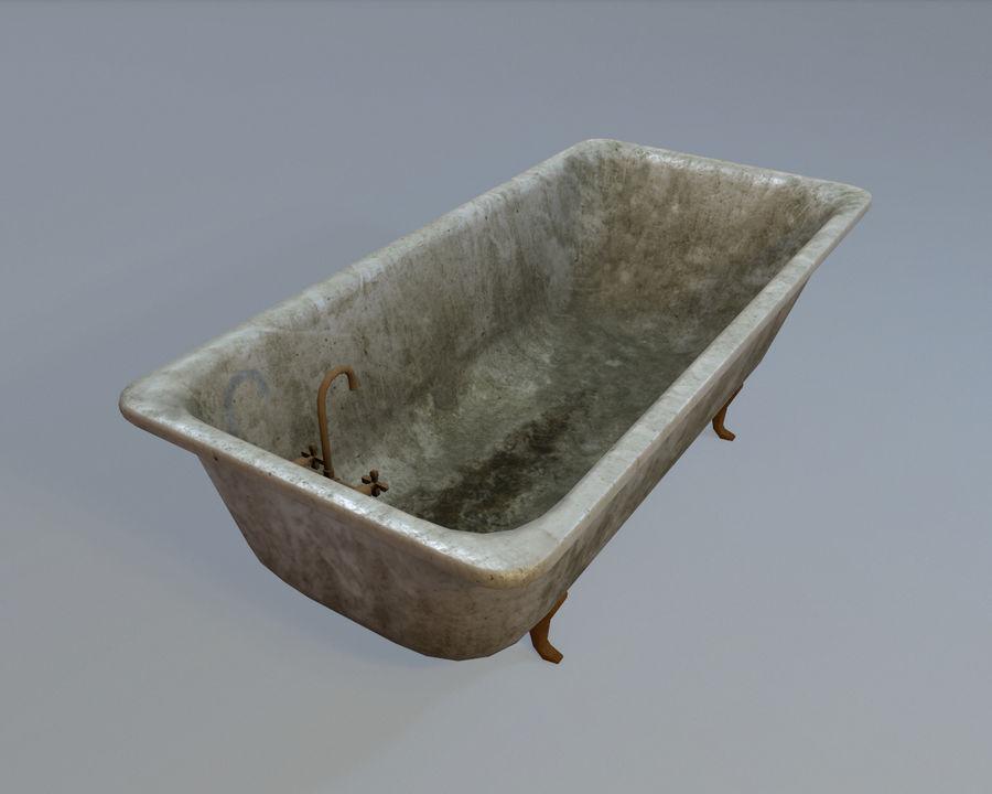 목욕통 royalty-free 3d model - Preview no. 3