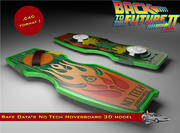 Rafe Data Unger No Tech Hoverboard 3d model
