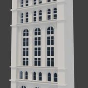 Cityscape Building Facade 3d model