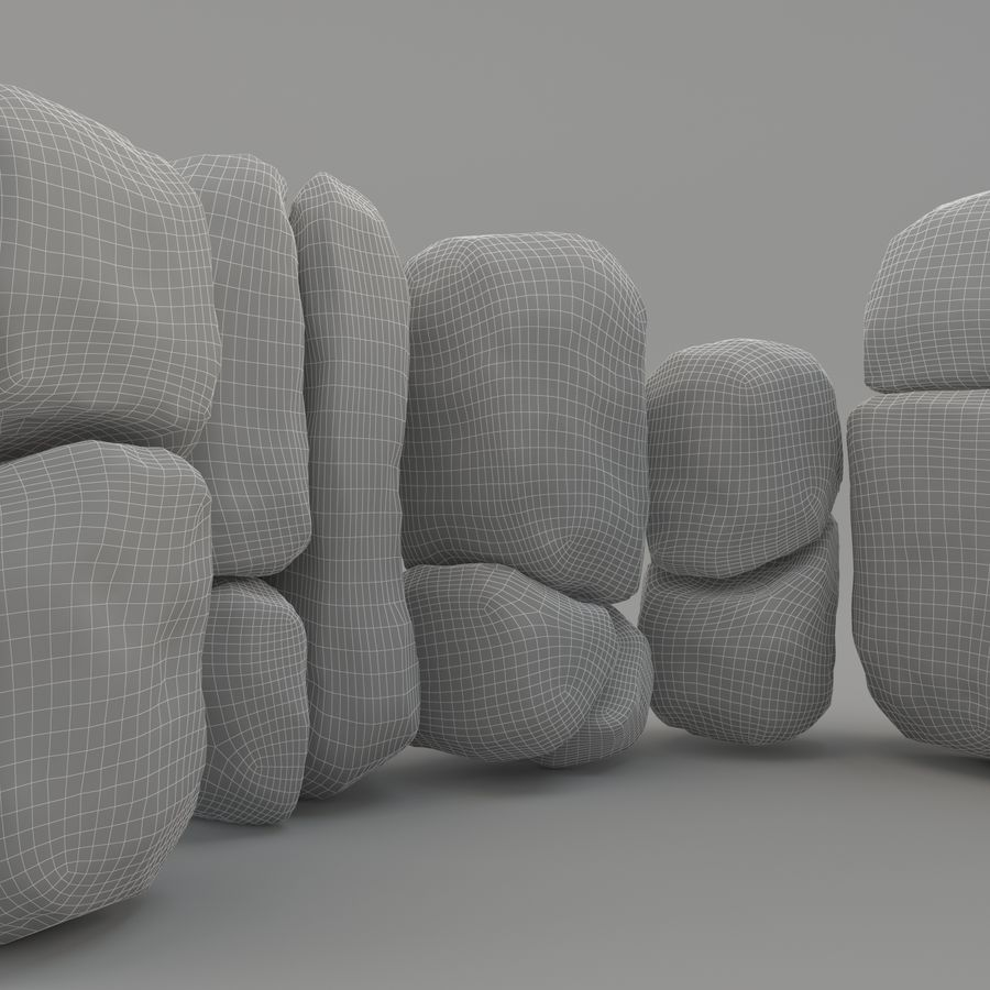 Pierre royalty-free 3d model - Preview no. 7