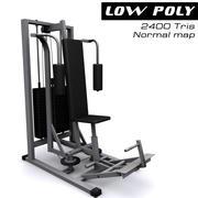 Treinador atlético (complexo) 3d model
