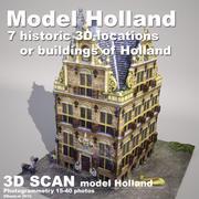 DBuzzi 3D Scan Holland House 3d model