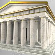 Ancient Roman Building 3d model