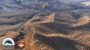 Montanhas rochosas do deserto Médio Oriente 3d model