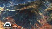 Rotsachtige woestijnbergen Noord-Afrika 3d model